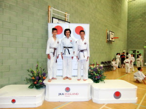Bromley & South East London JKA Karate Club Team Kata: Patrick Pelter, Edward Foxhall & William Foxhall , National Championships, 25th June 2016