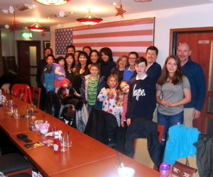 (Click to Enlarge) Bromley & South East London JKA Karate Club Christmas Lunch, Sunday 20th December 2015. A Great Atmosphere, Delicious Food & An Enjoyable Company full of Christmas Spirit! MERRY CHRISTMAS EVERYONE!