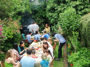 (Click to Enlarge) No Karate Today! Just BBq & FUN!!!