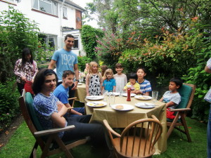 (Click to Enlarge) Some members of Bromley & South East London JKA, Karate Club, A Fun BBQ Day! 2016