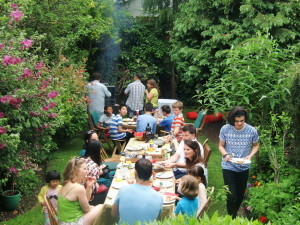 (Click to Enlarge) Bromley & South East London JKA Karate Club Summer BBQ! June 2016. Sizzling food, Great Fun & Friendship! June 2016