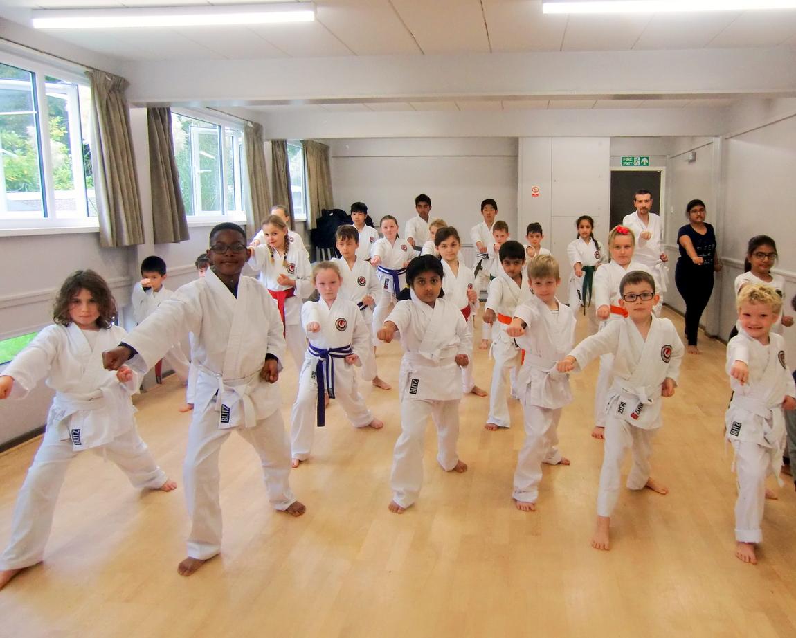 Bromley & south East London JKA Karate Club, Saturday Dojo.