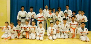 Sensei Gary Stewart ( 5th Dan) & The Bromley & South East London JKA Karate Club 1st Ever Grading ! An Excellent Training Session & A Very Successful Grading With A 100 % Pass Rate. Many Thanks To Sensei Gary Stewart & Well Done Everyone!