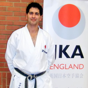 Sensei Adel Ismail (5th Dan) Head of JKA England, Examiner & Member of The JKAE Technical Committee