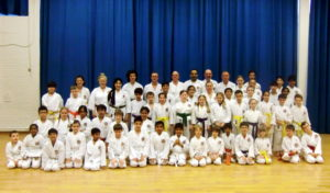 (Click to Enlarge) Sensei Shahinaz & Junior Instructor Patrick Pelter with Examiner Sensei Dobson & some members of Bromley & South East London JKa Karate Club,. VERY SUCCESSFULL GRADING!! MANY CONGRATULATIONS! Wednesday 29th March 2017.
