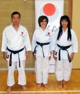 Sensei Ueki ( 9th Dan) Cheif Instructor of JKA