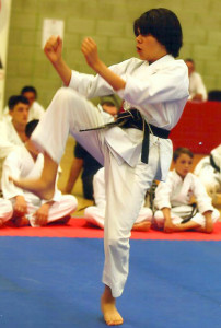 Patrick Pelter, Excellent Kata Performance in the JKAE National Championships, June 2014