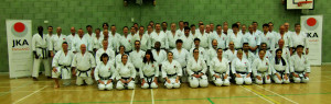 Click to Enlage) Bromley & South East London JKA Karate Club is the Award–Winning Club of the Year! (Instructors Course, Saturday 10th January 2015 )