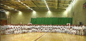 (Click to Enlarge) JKA England Members at the Spring International Course, May 2015