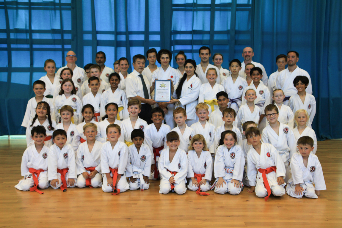 TRADITIONAL JAPANESE SHOTOKAN KARATE CLUB