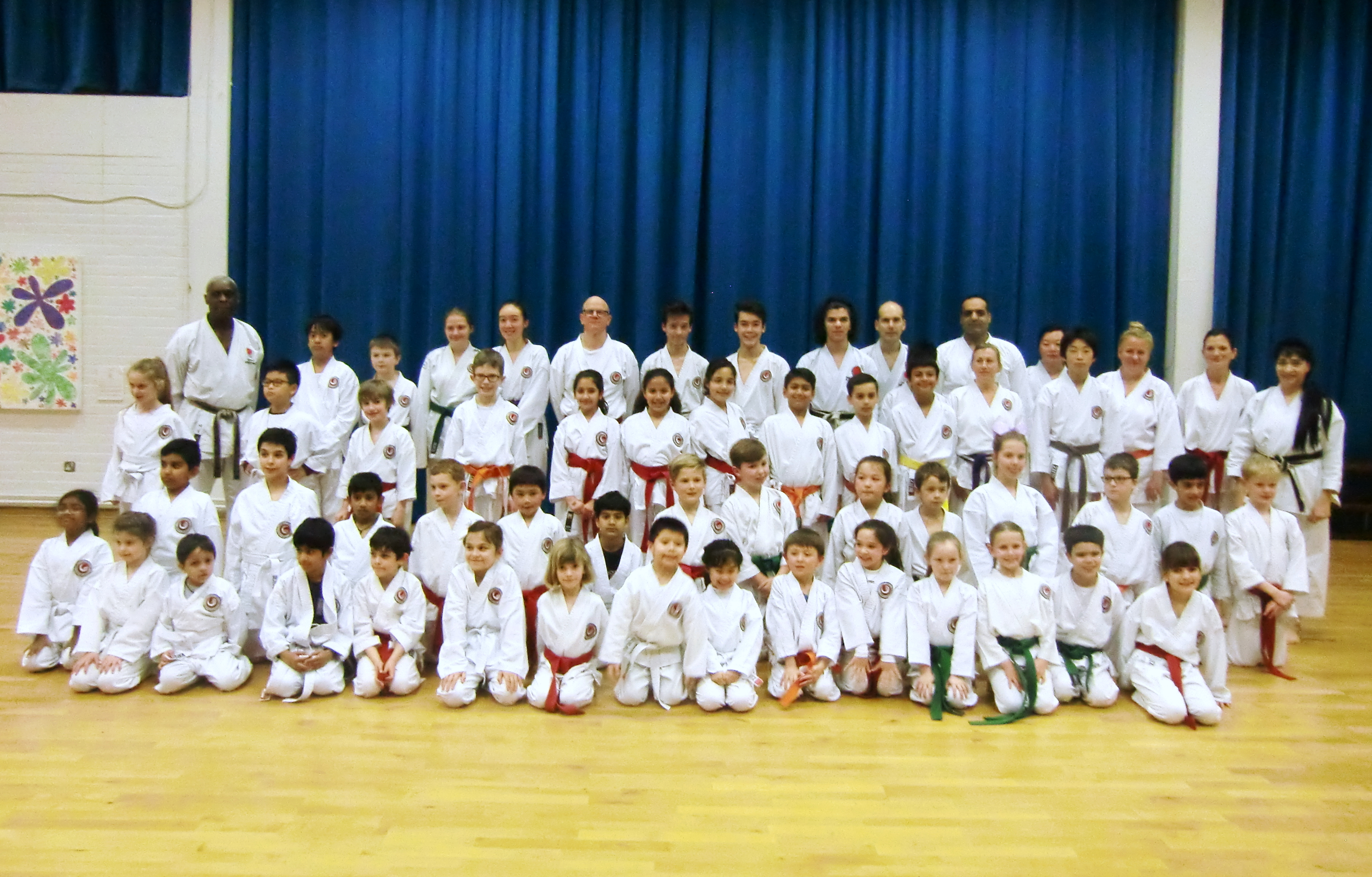 (Click to Enlarge) Bromley & South East London JKA Karate Club ends the 2016 with another very successful grading! A Brilliant Training Session with the highly qualified examiner Sensei Roy Tomlin (MBE) (6th Dan) , which was attended by more than 50  Members! Many Thanks Senei Roy ! Also Many Thanks to all those who attended as well as to all the members for supporting the club A Special Big Thank You to Patrick Pelter for all his help & hard work with the students through out the year! Well Done & Congratulations to Everyone! KEEP TRAINING!!
