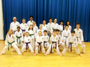 (Click to Enlarge) Green Belt and above had a special advanced training session with Sensei Adel(6th Dan) with particular emphasis on kumite. TIRING BUT A SUPERB SESSION!!!