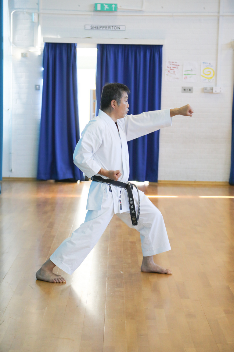 (Click to En;large) Our members described  Sensei Ohta training session that preceded the grading, tiring but wonderful!