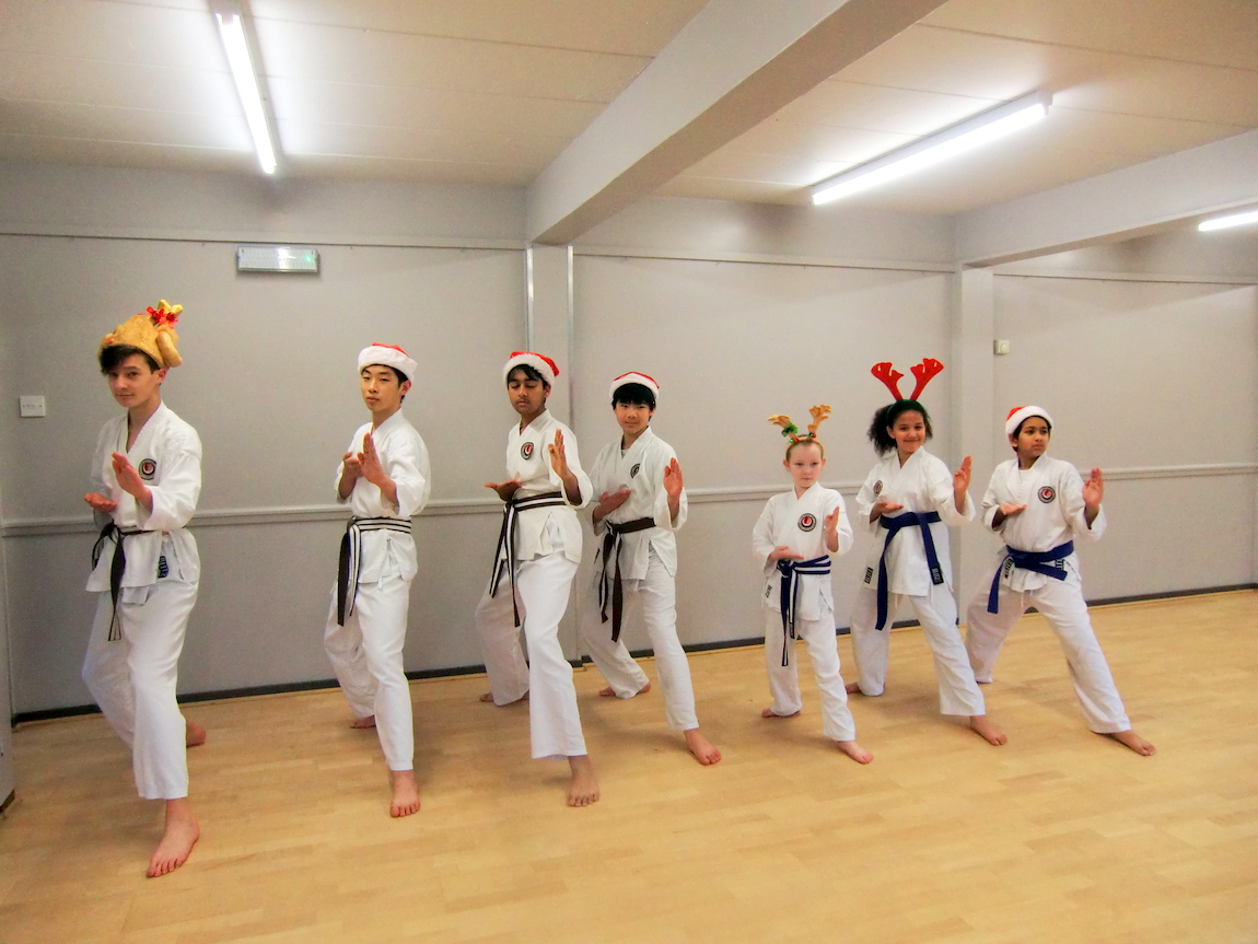 Bromley & South East London JKA Karate Club, Christmas Fun 2017.