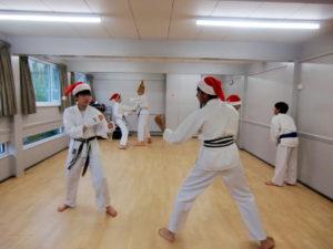 Bromley & South East London JKA Karate Club, Christmas Fun 2017.