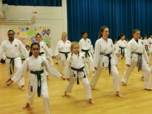 Bromley & South East London JKA Karate Club, Grading December 2017